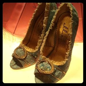 Ellie Rhinestone Stiletto Court Shoes (5)